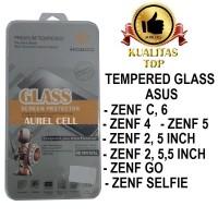 Jual Tempered Glass Antigores Kaca Asus Zenfone 5, C, 6, GO, SELFIE Murah