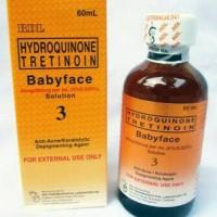 Toner RDL Hydroquinone Tretinoin Babyface Solution Anti Acne