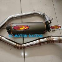 Knalpot Full System GP7 Ori Yamaha R15 Xabre CBR150 K45 K45G K46 2016