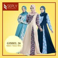 Gamis SEPLY Gissel-26 Ukuran S, M dan L