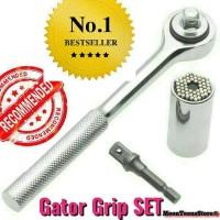 Jual Kunci Socket Gator Set / Roulette Socket /Universal Grip Socket Murah