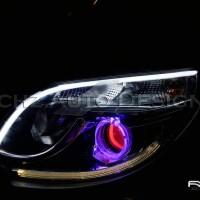 Custom set Headlamp Rush 2016 : Angel Eyes Wifi + Evil Eyes + DRL Line