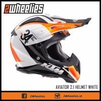 Helm cross Airoh edisi KTM warna orange all size murah jakarta ori