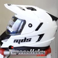 MDS Helm Super PRO Fullface Ringan SuperMoto