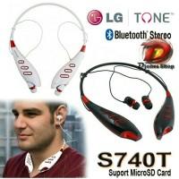 headset Bluetooth LG S740T Handsfree wireless + slot micro SD