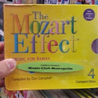 CD BOXSET THE MOZART EFFECT MUSIC FOR BABIES (4CD)