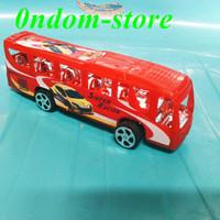 mainan mobilan miniatur bus sekolah