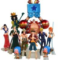 Action Figure Set PVC Chozokei Damashii Chodam One Piece New World