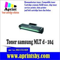 harga Toner Samsung Mlt D 104, Mlt-d104 Ml 1660, 1671, 1860 Siap Pakai Tokopedia.com