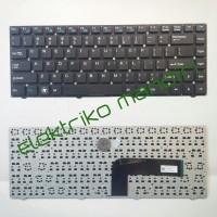 Keyboard axioo RNE, axioo Clevo W540 / MP-11P53A0-528W Black