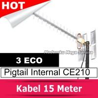 Antena Modem Yagi Extreme 3 Eco Pigtail Modem Internal CE210