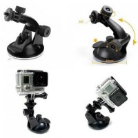 Jual Suction Cup Car Holder for GoPro / Xiaomi Yi / SJCAM Murah