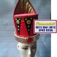Topi Pria Aceh Baju Adat Karnaval Kostum Tari Anak Tradisional
