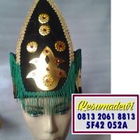 Mahkota Pria Gorontalo Baju Adat Karnaval Kostum Tari Anak Tradisional