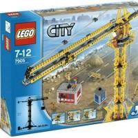 Lego City Crane Building 7905