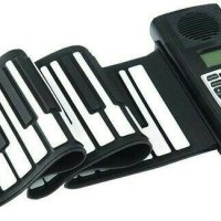 Portable Flexible Electronic MIDI Roll Up Piano 61 Soft Keys BORA