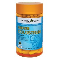 Healthy Care Super Colostrum 400mg 200 Chewable *MADE IN AUSTRALIA*