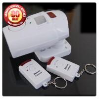 Alarm Sensor Gerak Dual Remote / Alarm Bell Rumah Anti Maling