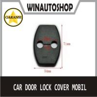 Car Door Lock Cover Mobil For Toyota Avanza Veloz Agya Innova Fortuner