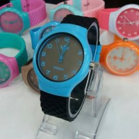 Jam tangan wanita, Adidas rubber, simple/elegant, kw super