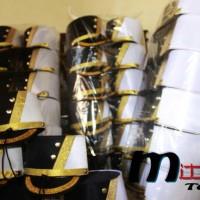 Topi drumband pasukan black white / MAYORET