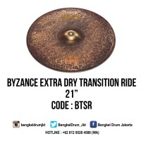 "Meinl Cymbal Byzance Extra Dry Transition Ride 21"" (Mike Johnston Sign"