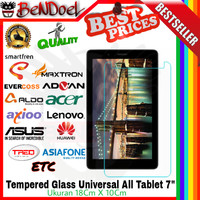 "Tempered Glass All Tablet Tab Universal 6.8""-7"" Celkon/ Dell/ HP/ HTC"