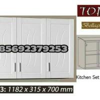 Jual Kitchen Set / Lemari Gantung Dapur Topix 3 Pintu Murah