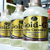 JELLY GAMAT GOLD G   Bio Sea Cucumber   320ml