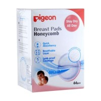 Pigeon Breastpad isi 66pcs Honeycomb Disposable Breast Pad 66