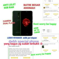 vs samsung xiaomi android terbaik murah 6GB ram umi plus case+ tempred