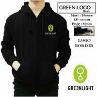 Greenlight Logo Hitam / Jaket Murah / Grosir Jaket