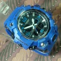 JAM TANGAN PRIA G SHOCK GWG 1000 BLUE