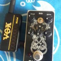 stompbox dan vox amplug metal