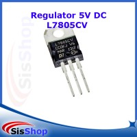 IC VOLTAGE REGULATOR 7805 L7805 L7805CV 5V 5 VOLT TO-220
