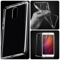 Soft Clear Cover Samsung Transparan Case S6 Flat S7 Edge Note 5 7 4 S5