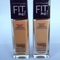 MAYBELLINE FIT ME ! NEW LOOK DEWY + SMOOTH NATURAL BEIGE