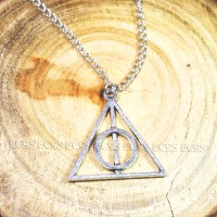 harry potter necklace / kalung deathly hallows luna lovegood NE-03