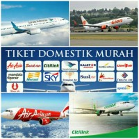 TIKET PESAWAT Lion Air, Citilink, Garuda, Air Asia, Batik Air, Wings