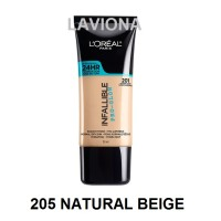 Loreal L'oreal Infallible Pro Glow Foundation 205 Natural Beige