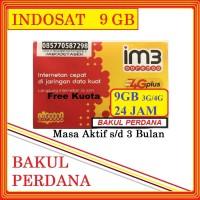 Kartu Perdana Internet Indosat 9GB Kuota Jaringan (3G / 4G LTE) 24 Jam