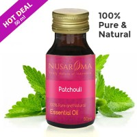 50ml - Patchouli Essential Oil (Minyak Nilam) 100% Pure Natural