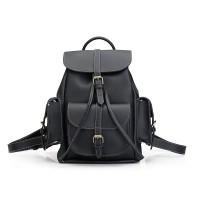 Tas Ransel Bagpack Import Fashion Travel Kuliah Wanita Pria Hitam