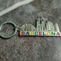 Jual Gantungan Kunci Barcelona Spanyol Murah
