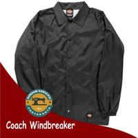 Jaket Coach Windbreaker Polosan Custom Bebas Pilih Warna