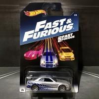 Hot Wheels Fast & Furious Nissan Skyline GT-R Brian Paul Walker 2017