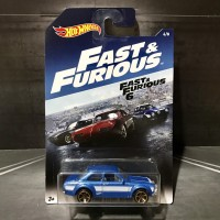 Hot Wheels Fast & Furious Ford Escort RS1600 Brian Paul Walker 2017