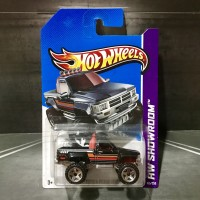 Hot Wheels Toyota Pick Up Truck Black 1987