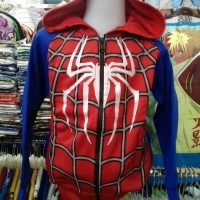Hoodies/Jaket/Sweater Anak Spiderman