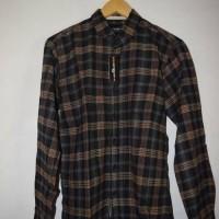 Jual kemeja flannel slim fit /flannel lengan panjang /kemeja casual(kode35) Murah